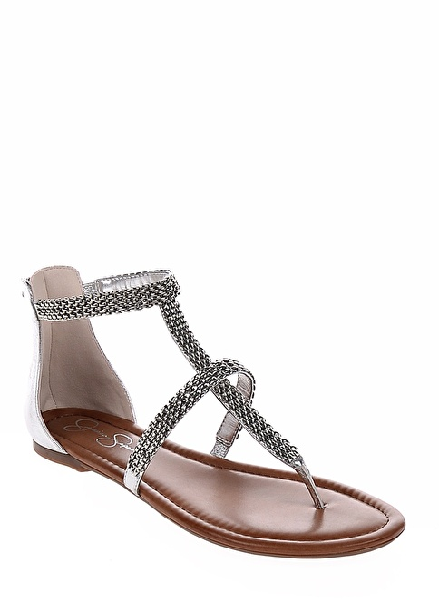 Jessica Simpson Sandalet Gümüş